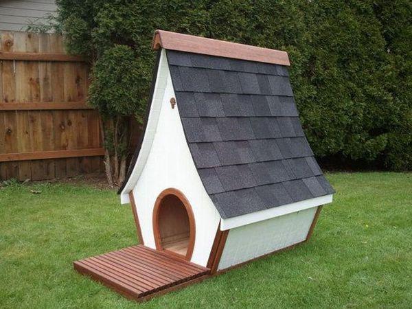 Вариант для собачьего домика