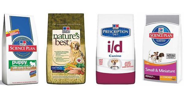 Сухие корма для взрослых собак и щенков премиум-класса от компании Hills