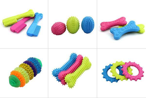 Позаботьтесь об разных игрушках для щенка