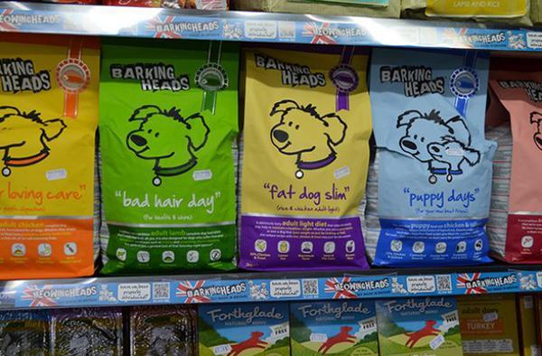 Barking Heads привлекает яркой упаковкой