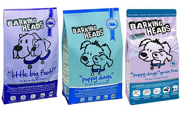 Баркинг Хедс для щенков