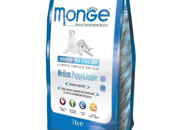 Сухой корм Monge для щенков