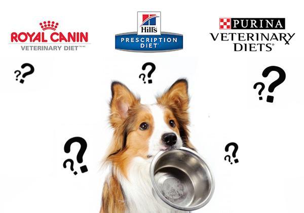 3 основных производителя лечебных кормов для собак