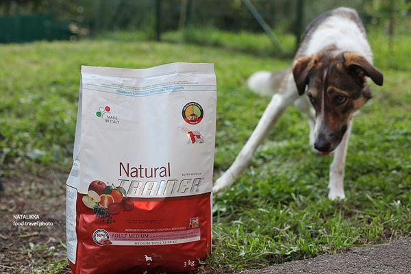 Корм марки Trainer для собак