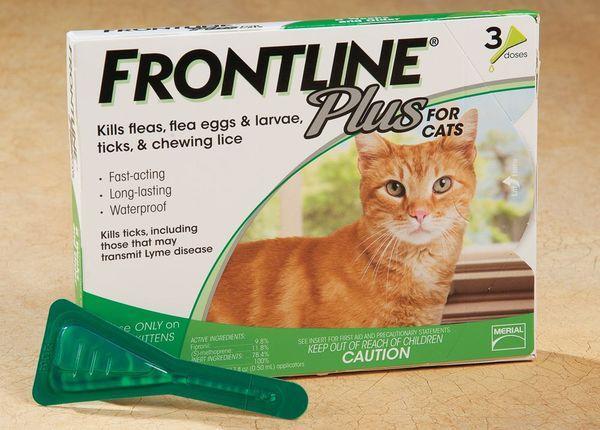 «Фронтлайн» - это противопаразитарное средство против блох и клещей
