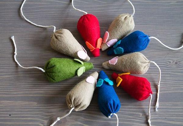 Игрушечные мышки - это отличное увлечение для вашего питомца