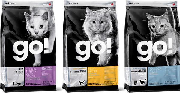 Корм Go! содержит только натуральные ароматизаторы и консерванты
