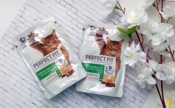 Корм Perfect Fit Sterile предупреждает у стерилизованных кошек различные заболевания