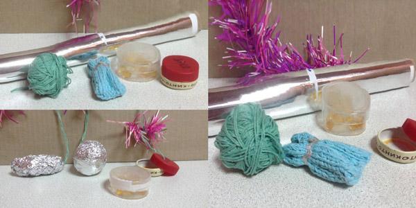 Материалы для создания игрушечной мышки для кота