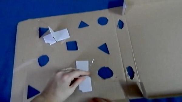 Отверстия в коробке могут быть разной формы