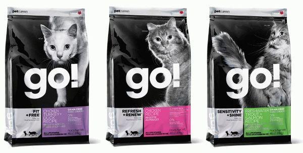 Рецептура Go Natural основана на сочетании 4 разновидностей мяса