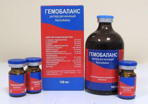 Лекарственное средство «Гемобаланс»