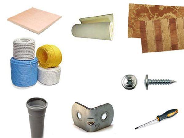 Материалы для изготовления когтеточки