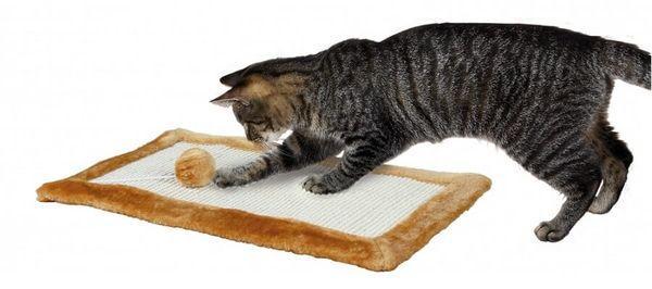 Горизонтальная когтеточка для котов