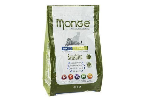 Итальянский корм для кошек марки Monge Functional