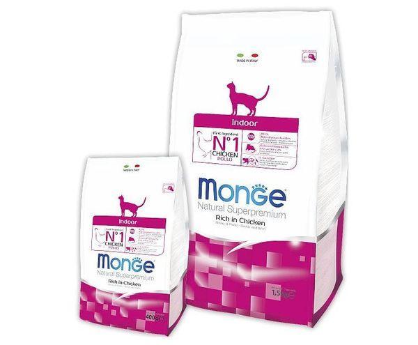 Итальянский корм для кошек марки Monge Natural