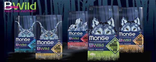 Итальянский корм для кошек Monge BWild Cat