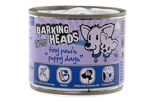 Консервы для собак бренда Barking Heard