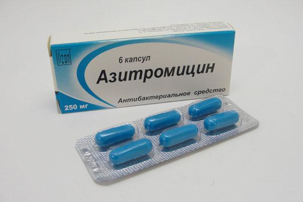 «Азитромицин» применяют при инфекциях среднего уха и хламидиозе
